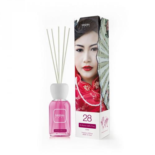Reed diffuser EASY White Tea of Cina